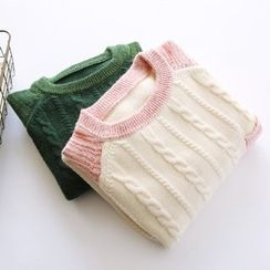 Bonbon - Cable Knit Sweater