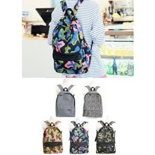 JOGUNSHOP - Patterned Backpack