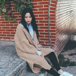 MISS YOYO - Chunky Knit Long Cardigan