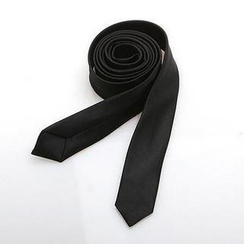 Free Shop - Slim Satin Necktie