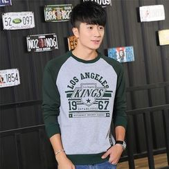 SOLER - Print Raglan Sweatshirt