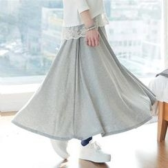 GLAM12 - Maxi Cotton Skirt
