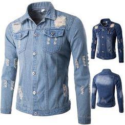 Blueforce - 做舊牛仔夾克