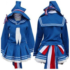 Cosgirl - Wadanohara and the Great Blue Sea Wadanohara Cosplay Costume