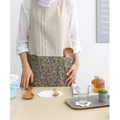 iswas - Pintuck Pattern Apron