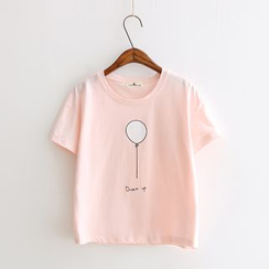 gabrielle - Short-Sleeve Print T-Shirt