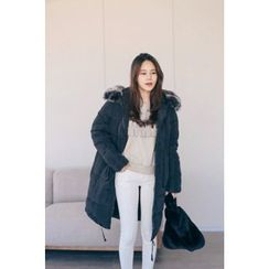 PPGIRL - Faux-Fur Padded Coat