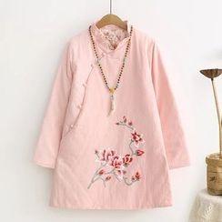 TOJI - 印花旗袍