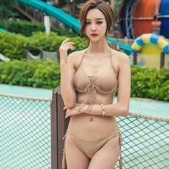 Blue Lagoon - Plain Bikini