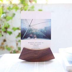 Kawa Simaya - Wooden Card Stand (1pc)