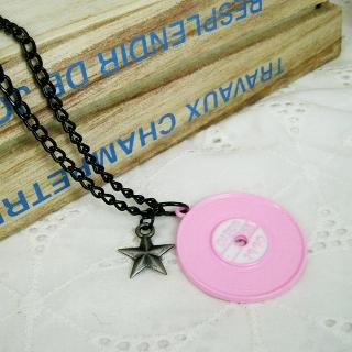 MyLittleThing - Rocking Music Necklace(Pink)