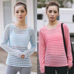 Sylphlike Loli - Sport Mesh Long-Sleeve T-Shirt