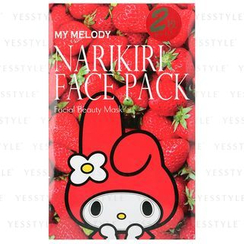 Sanrio - Narikiri Face Pack Facial Beauty Mask (My Melody) (Strawberry)