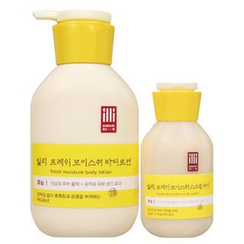 illi - Set: Fresh Moisture Body Lotion 350ml + Scrub Wash 100ml