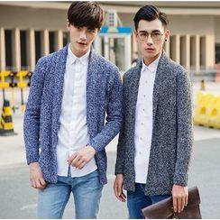 XINNI - Wool Blend Knit Cardigan