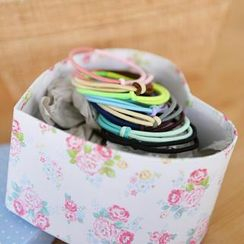 59 Seconds - Set of 8: Two-Tone Hair Ties