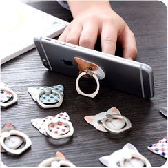 VANDO - Cat Pattern Mobile Phone Ring Holder