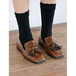 FROMBEGINNING - Tassel-Detail Loafers