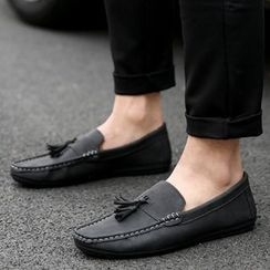 Shino - Tasseled Moccasins