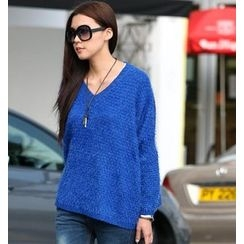 SO Central - V-Neck Oversize Sweater