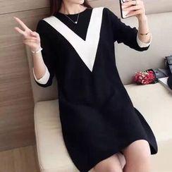Tulander - Striped Sweater Dress