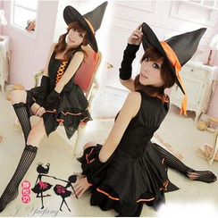 Cosgirl - Witch Party Costume