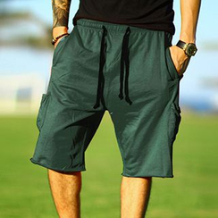Mannmix - Drawstring Sweat Shorts