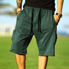 Mannmix - 抽绳运动短裤