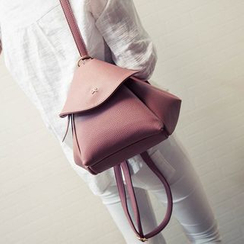 Bag Affair - Faux-Leather Backpack