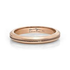 Kenny & co. - IP Rose Gold Lace Ring