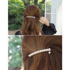 soo n soo - Faux-Pearl Hair Barrette