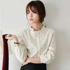 EFO - Frilled Dotted Blouse