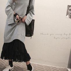 NANING9 - Mock Two-Piece Dress
