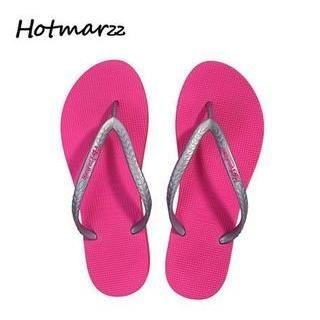 Hotmarzz - Two-Tone Flip-Flops