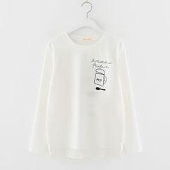 Meimei - Print Long-Sleeve T-shirt