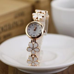 Tacka Watches - Flower Bracelet Watch
