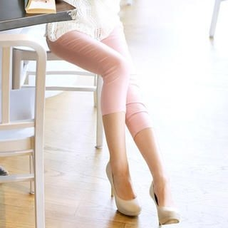 Tokyo Fashion - Metallic-Trim Capri Pants