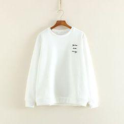 Mushi - Embroidered Sweatshirt