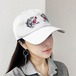 FROME - Tiger Embroidered Baseball Cap