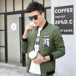 Walwa - Applique Zip Jacket