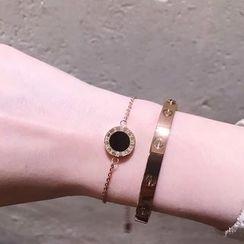 JZ Concept - Roman Number Scallop Bracelet