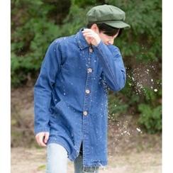 ABOKI - Denim Washed Shirt