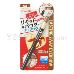 K-Palette - Lasting 2 Way Eyebrow (#02 Honey Brown)