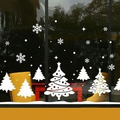 OH.LEELY - Christmas Tree Window Sticker