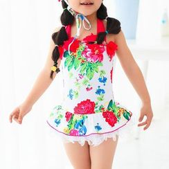 BOIE - Kids Floral Print Swimdress