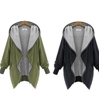 Eloqueen - Hooded Zip Jacket