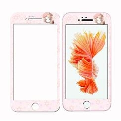 Kindtoy - Printed Tempered Glass Protective Film - iPhone 6s / 6s Plus
