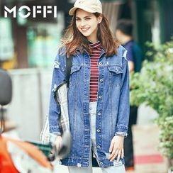 MOFFI - Distressed Denim Jacket
