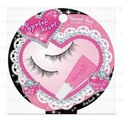 Koji - Spring Heart Eyelash (#27 Natural Basic)