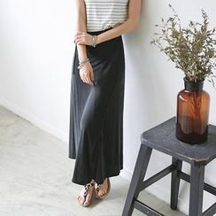 JUSTONE - Wrap-Front Maxi Skirt